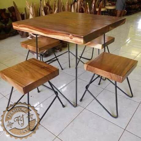 Set Kursi Cafe Minimalis